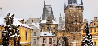 Погода в Праге зимой