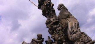 Скульптура Святой Девы Марии и Иоанна Евангелиста