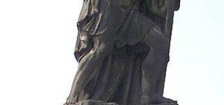 Статуя святого Христофора