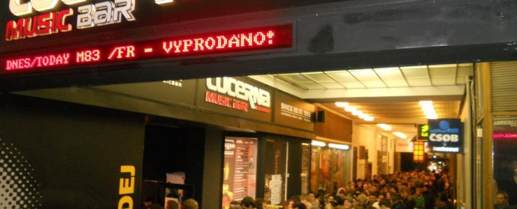 Клуб Lucerna Music Bar