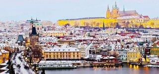 Погода в Праге в декабре
