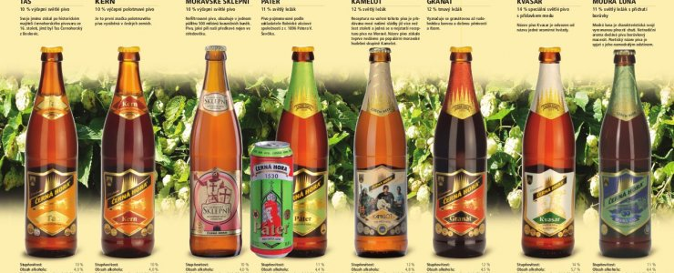 Пивоварня Черная гора (Černá Hora)