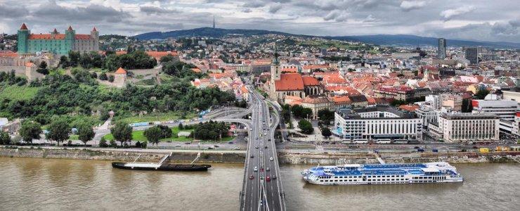 Как добраться из Праги в Братиславу