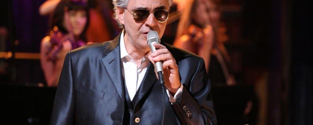 Концерт Andrea Bocelli в Праге