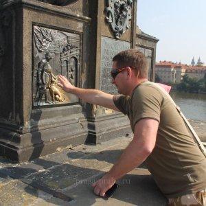Загадать желание на Карловом мосту