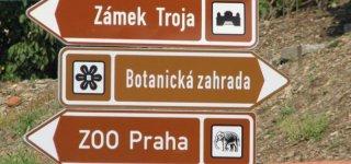 Тройская карта в Праге (Troja Card)