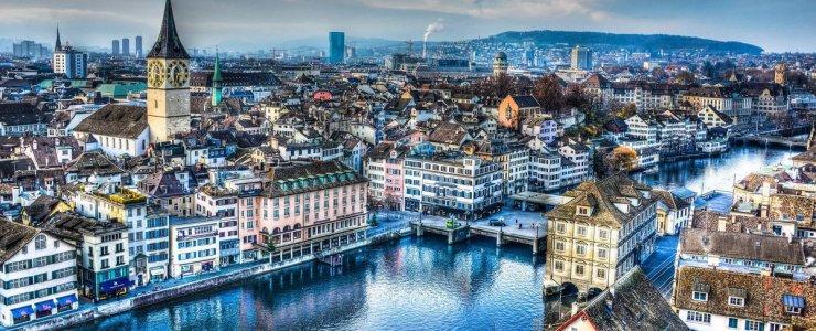 Как добраться из Цюриха в Прагу