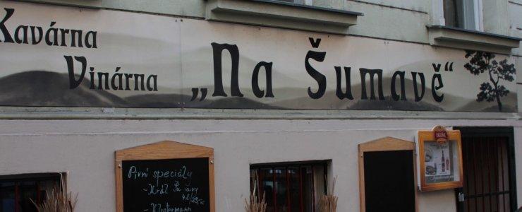 Пивная Kavárna Na Šumavě