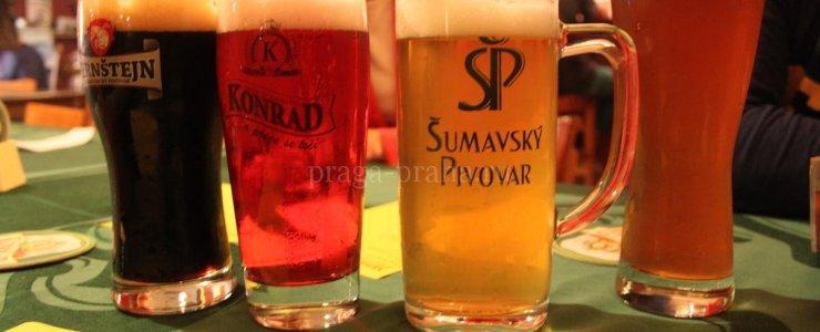 Сколько стоит пиво в Праге