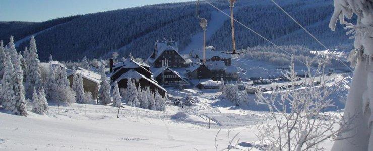 Горнолыжный курорт Червеногорске-Седло (Červenohorské sedlo)