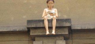 Скульптура Ласточка
