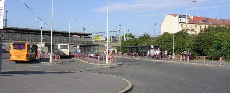 Автовокзал Голешовице