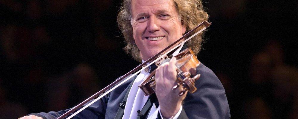 Концерт Андре Рье с оркестром в Праге