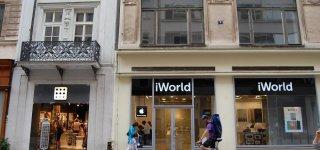 Магазины Apple в Праге