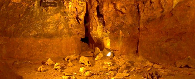Младечские пещеры - Mladečské jeskyně