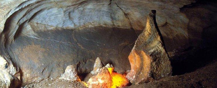 Хыновска пещера - Chýnovská jeskyně