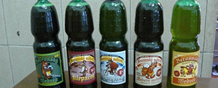 Пивоварня Бероунский медведь