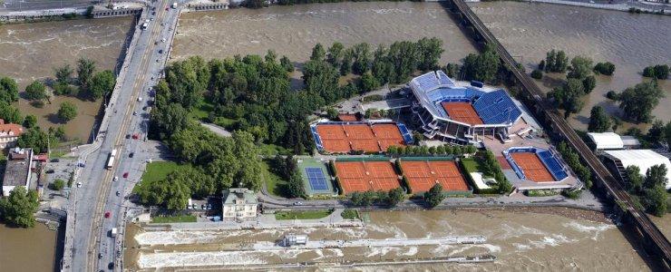 Теннисные корты Праги