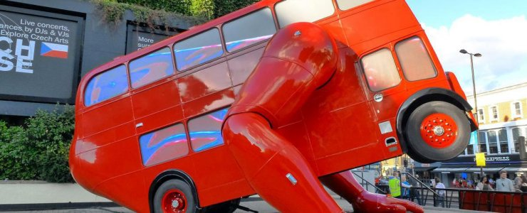 Скульптура London Booster