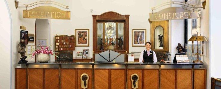 Отель Hotel Paris Prague