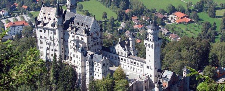 Замки отели Чехии