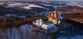 Замки в Чехии, открытые зимой