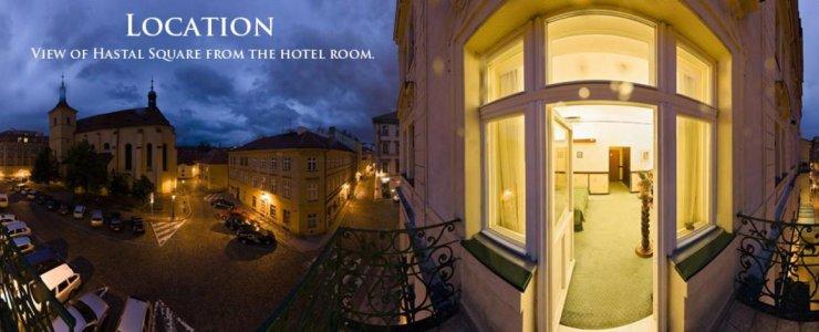 Отель Hastal Prague Old Town