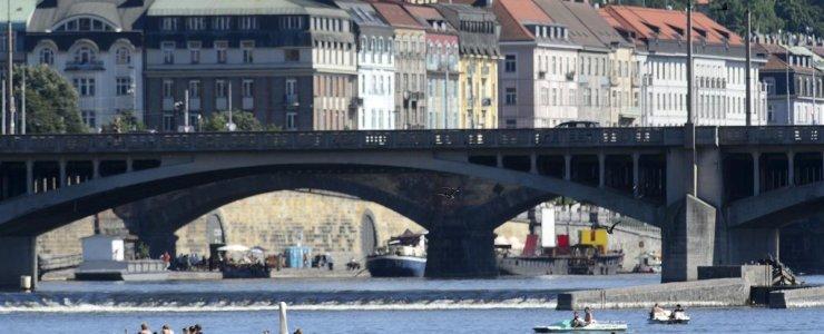 Прокат лодок и катамаранов в Праге