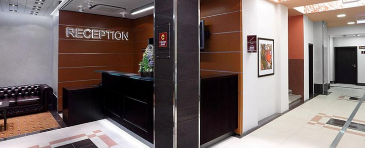 Отель Clarion Hotel Prague City