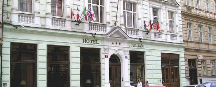 Отель Julian Prague