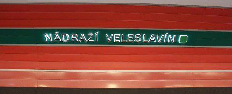 Транспортная развязка Nádraží Veleslavín