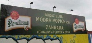 Клуб Modrá Vopice