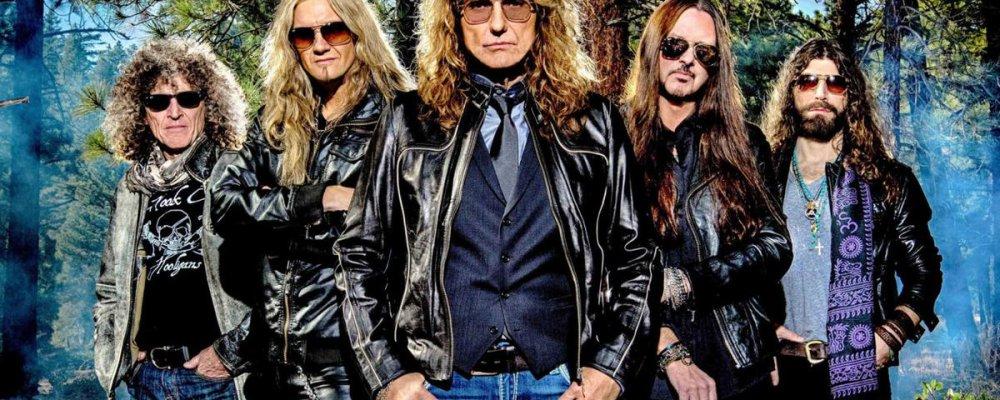Концерт Whitesnake в Праге