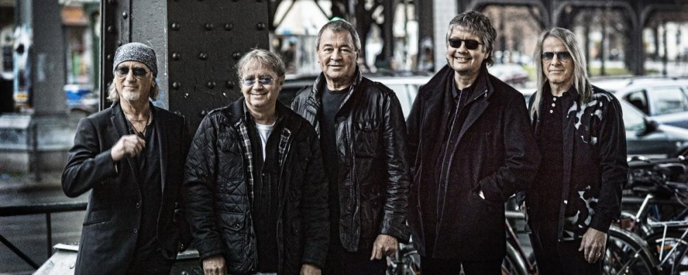 Концерт Deep Purple в Остраве