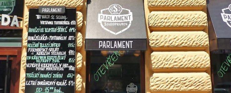 Пивная Vinohradský Parlament