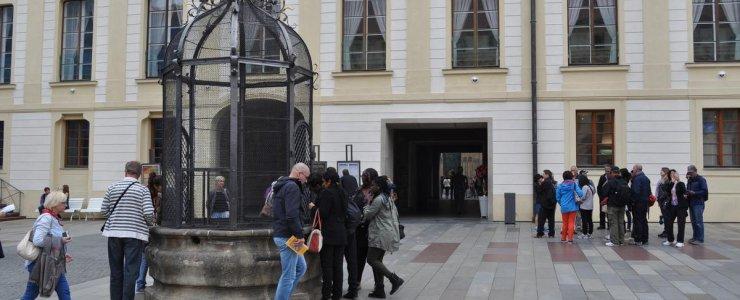 Колодец во II дворе Пражского града