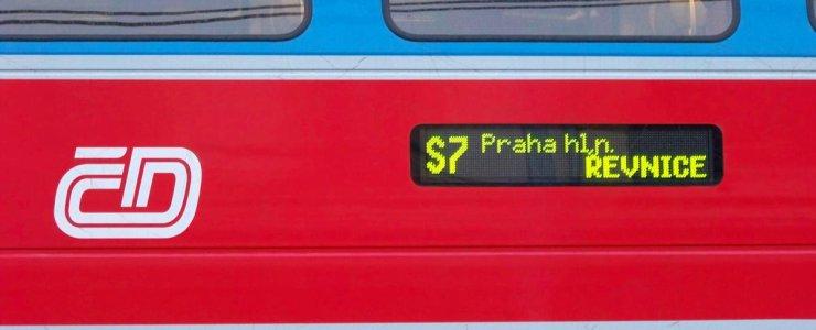 Пригородное железнодорожное сообщение Праги