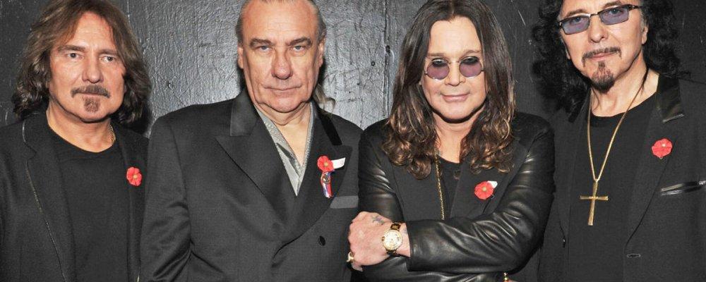 Концерт Black Sabbath в Праге