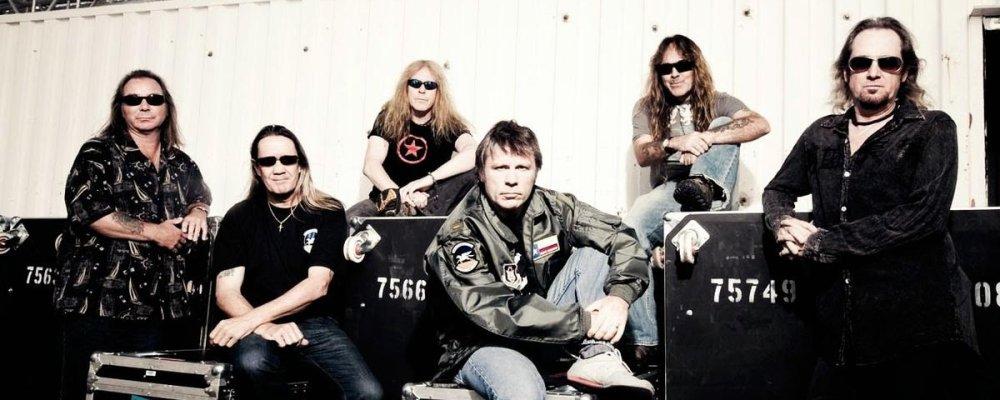Концерт Iron Maiden в Праге