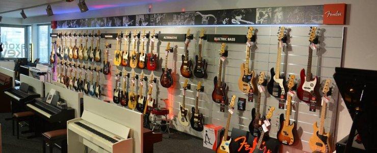 Музыкальные магазины Праги