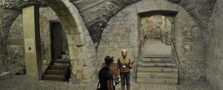 Подземелье Староместской ратуши