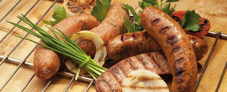 Чешские колбаски