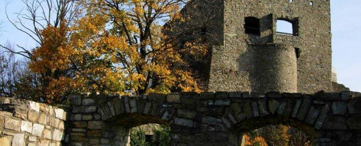 Руины крепости Гуквальды