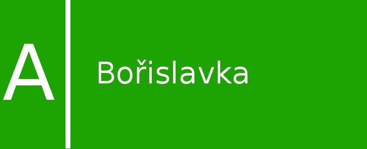 Станция метро Bořislavka