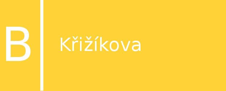 Станция метро Křižíkova