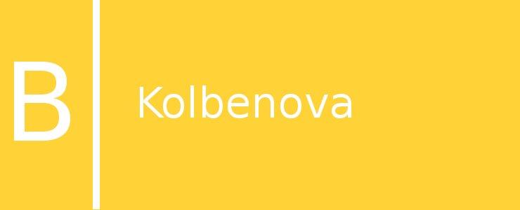 Станция метро Kolbenova