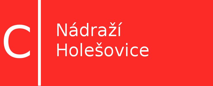 Станция метро Nádraží Holešovice