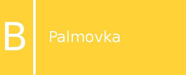 Станция метро Palmovka