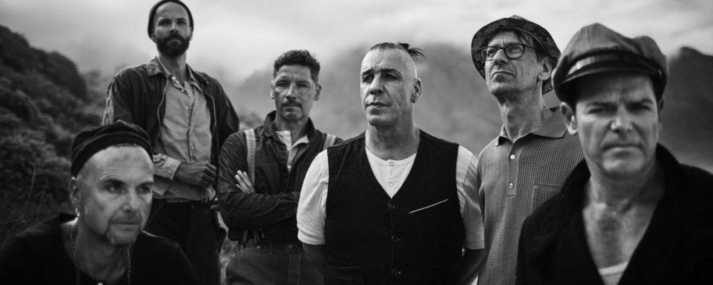 Концерт Rammstein в Праге