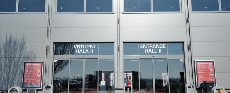 Выставочный центр PVA EXPO PRAHA